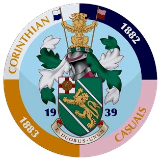 Corinthian-Casuals FC Car Window Sticker
