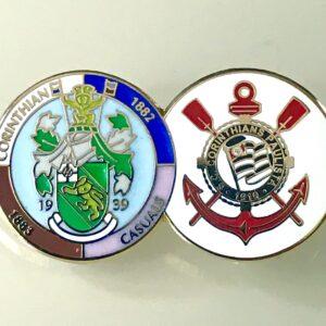 Corinthian-Casuals & SC Corinthians Paulista Pin