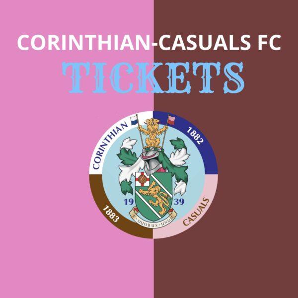 Corinthian Casuals 20/21 Tickets