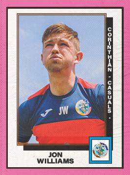 Jon Williams Player Sponsorship
