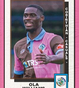 Ola Williams Player Sponsorship