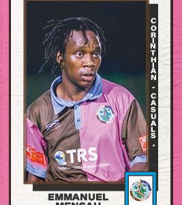 Emmanuel Mensah Player Sponsorship